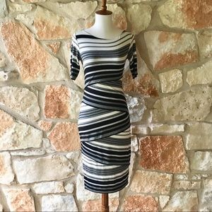 Anthropologie Bailey 44 Black and White Dress